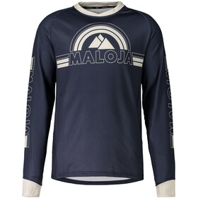 Maloja RuediM. Longsleeve Freeride Jersey Heren, mountain lake
